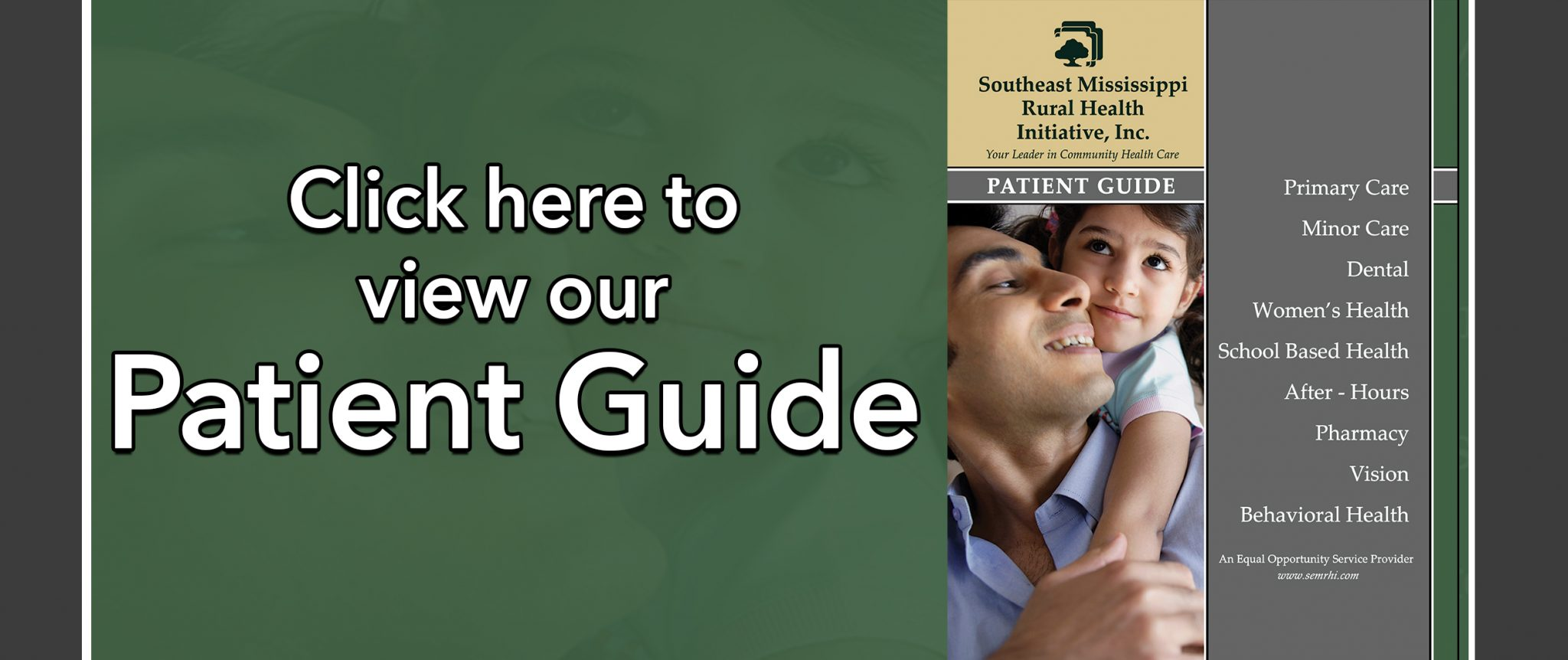 Patient Guide web banner